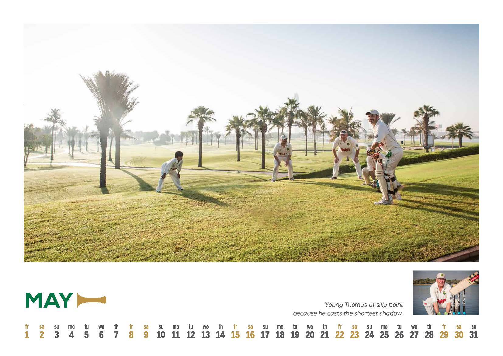 5 DCC 2015 Calendar