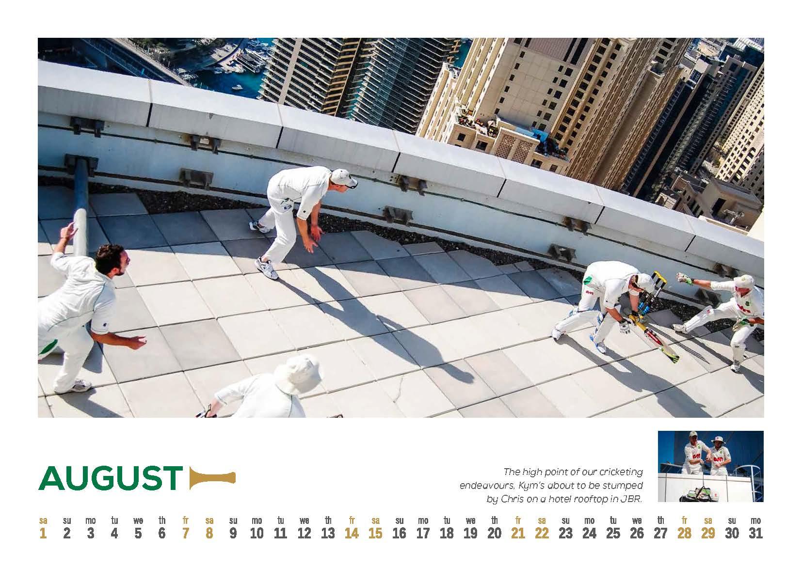 8 DCC 2015 Calendar
