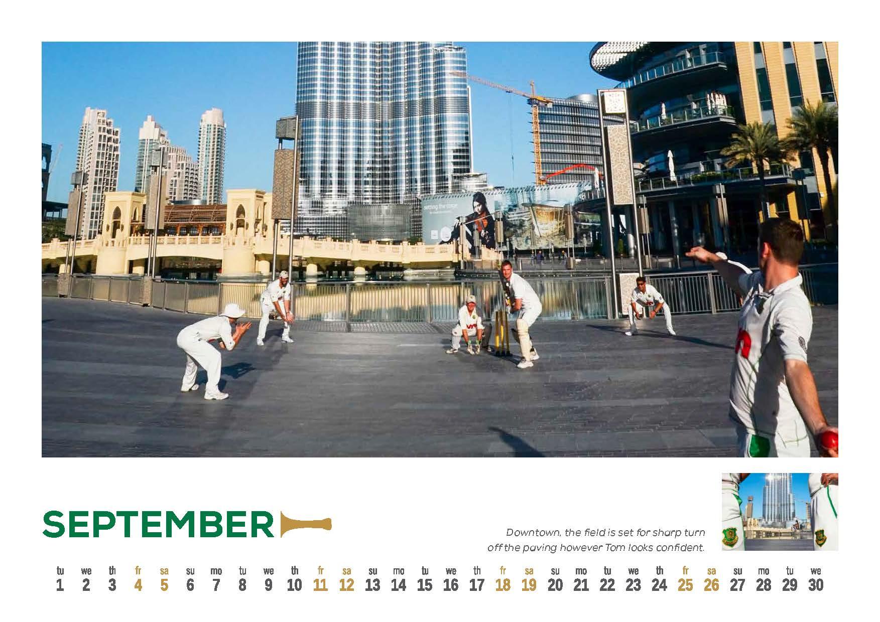9 DCC 2015 Calendar
